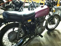 motorcycle 1976 honda cb360 cafe racer