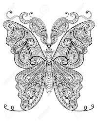 Verse Kleurplaten Voor Volwassenen Vlinders Krijg Duizenden