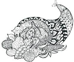 Thanksgiving Coloring Pages Printable Pdf Pretty For Online