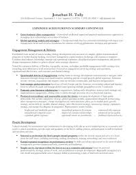 Professional Summary Examples For Resumes The Coaching Acquired So A ...