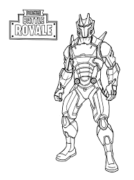 Omega Fortnite Gun Coloring Pages Auto Electrical Wiring Diagram