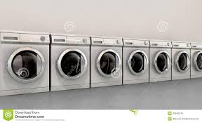 row of washing machines. Unique Row Download Washing Machine Empty Row Stock Illustration Illustration Of  Gadget  43642234 In Of Machines O