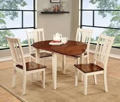 dining rooms elegant white round drop leaf dining table 2 and natural international concepts kitchen dining rooms elegant white round