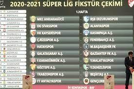 Süper Lig'de 2020-2021 fikstürü belli oldu; işte derbi haftaları... |  In