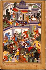 king akbar s mahabharata or the razmnama book of wars videshi basawan akbar s the tomb of khwajah mu in ad din chishti at ajmer google art project