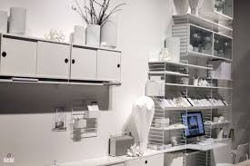 white office bookcase. View In Gallery All-white Home Office With Extensive Open Shelving White Bookcase