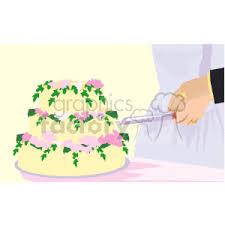 cutting the wedding cake clipart. Brilliant Clipart Cutting Wedding Cake Inside Cutting The Wedding Cake Clipart