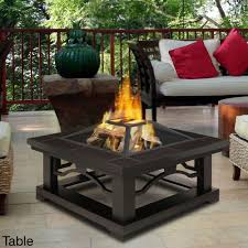 Outdoor Fireplace Table Q