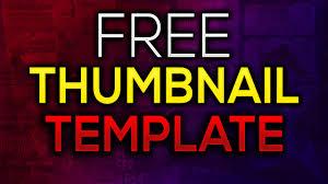 Free Thumbnail Template For Photoshop 2016 Cs5 Cs6 Cc Photoshop
