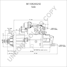 mack starter wiring mack diy wiring diagrams mack starter wiring description m110r2602se side dim drawing