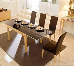 Expandable Glass Dining Room Tables Interior Best Inspiration Ideas