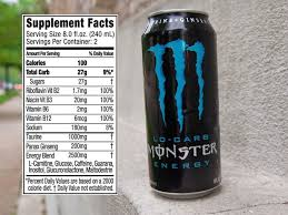 monster can nutrition facts. Beautiful Nutrition Monster Energy Drink Nutrition Facts Intended Monster Can Nutrition Facts S