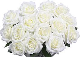 AmyHomie Artificial Flowers Silk Roses Bouquet ... - Amazon.com
