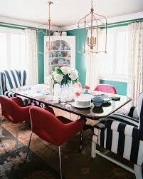 merveilleux striped dining room chairs photo 5