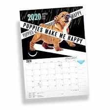 Puppies Top Model Calendar 2020