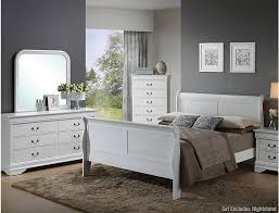 Philippe 5 Piece Queen Bedroom Set, White | Outlet at Art Van