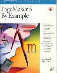 Page Maker Design Images Pagemaker 5 By Example Webster Associates 9781558512924