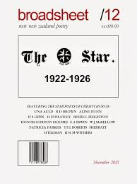Beattie's Book Blog - unofficial homepage of the New Zealand book  community: broadsheet features historical NZ poets