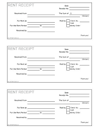How To Fill Out A Rent Receipt