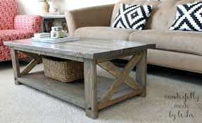 Storage Ottoman Plans Build Your Own Coffee Table Plans