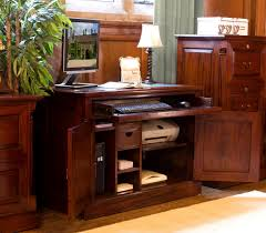 incredible workstation desk with simple bonsoni mobel oak hideaway