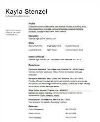 Volunteer Experience Resume Resume Samples