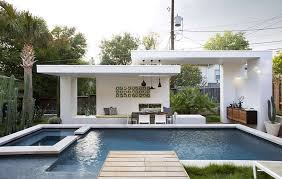 pool cabana interior. A Contemporary Pool Cabana Interior
