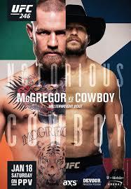 UFC 246: Conor McGregor vs. Cowboy Cerrone Fight Card ...