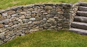 drystone wall dry stone wall dry