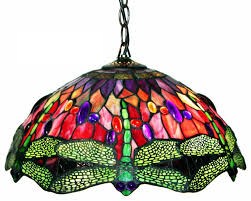 Tiffany Dragonfly Lamp Shade Dale Replacements Lampworks Base