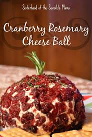 this cranberry rosemary cheese ball recipe is the perfect blend of sweet and savory great