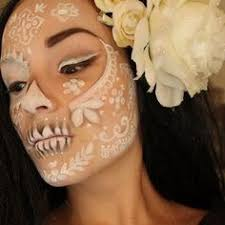 beautiful ethereal dia de los muertos make up idea diadelosmuertos