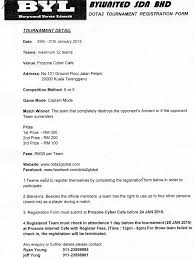prozone dota2 tournament registration form date 29th facebook