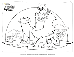 Small Picture Animal Coloring Pages National Geographic