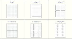 Graph Paper Template For Word