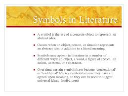 symbols and motifs ms ternove ap literature and composition ppt  13 symbols in literature