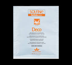 Solfine Hair Color Chart Deco Bleach For Rapid Bleaching And Streaking 25 G