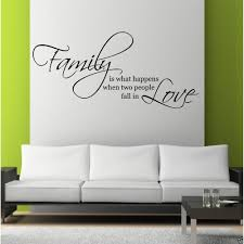 family love wall art sticker quote living room  on stencil wall art quotes with family love wall art sticker quote living room decal mural stencil