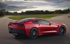 Corvette Stingray Chevrolet Chevy Supercars Race Track Roads