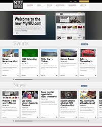 Website - New Alumni Unveils Today Association Niu Design