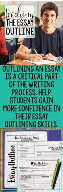 best middle school writing ideas middle school  teach students how to outline their essays high school writing middle school writing