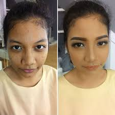 add to board makeup transformation by chintya johana 002