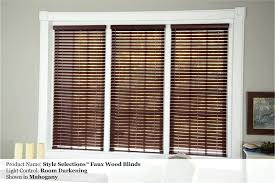 1 faux wood blinds levolor and shutters