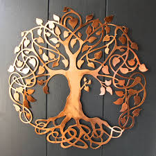 inspiring design copper wall art decoration ideas tree of life by london garden trading home decor uk nz australia outdoor