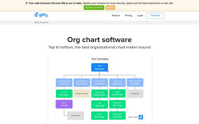 Best Org Chart Builder Gliffy