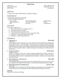 Best ideas about Good Resume Objectives on Pinterest Good Doc Examples Of  Resumes Very Good Resume