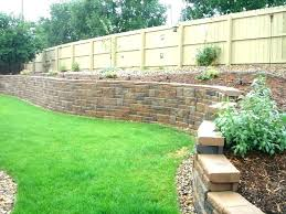 concrete retaining wall cost block wall cost per linear foot cinder block wall ideas retaining wall