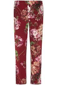 gucci pants. multi printed pajama pants gucci c