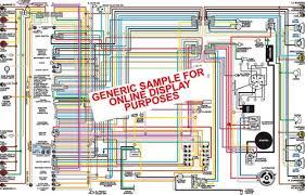 1969 chevy chevelle malibu & el camino color wiring diagram (with 1972 Chevelle Wiring Diagram at 1968 Chevy Chevelle Wiring Diagram