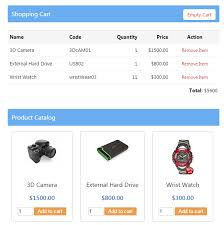 Simple Php Shopping Cart